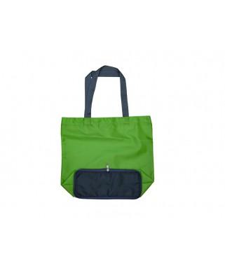 Foldable Nylon Bag with Zip