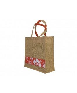 Flower Jute bag (S)
