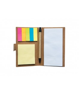 Eco Memo Pad with Pen