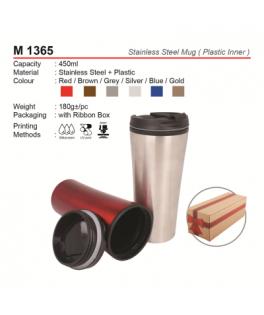 M 1365 Stainless Steel mug (Inner plastic)