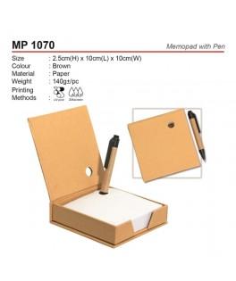 MP 1070 Memopad With Pen
