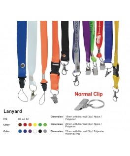 Lanyard with normal Clip