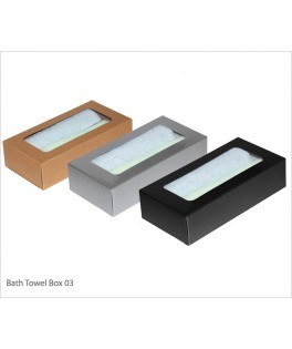 Face/Hand Towel Box