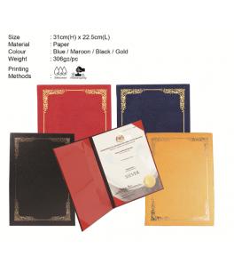 A4 Certificate Holder 010