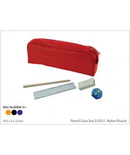 Pencil Case Set 2 (V21) - Nylon Pouch
