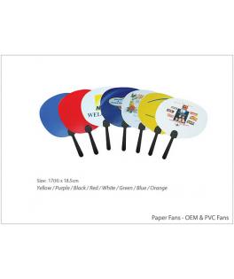 Paper Fans - OEM & PVC Fans